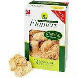 Flamers Natural Firelighters 50 Pack