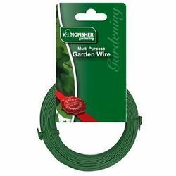 3mm Heavy Duty Garden Wire Plastic Coated (5m Coil)