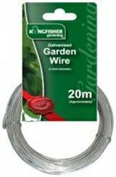 1.2mm GALVANISED GARDEN WIRE (20m COIL)