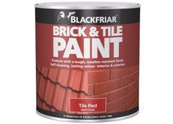Blackfriar Brick and Tile Paint Red 500ml