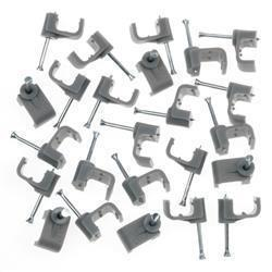 SupaLec Cable Clips - Flat 10mm