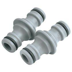 Draper Two-Way Hose Connector PP 2pk