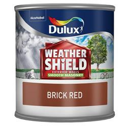Dulux Weathershield Tester Brick Red 250ml