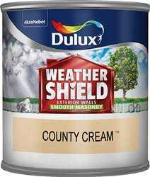Dulux Weathershield Tester County Cream 250ml