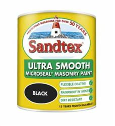 Sandtex Smooth Masonry 1l Black