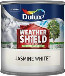 Dulux Weathershield Tester Jasmine White 250ml