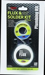 GoSystem Lead Free Solder and Flux Kit