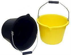 Proplas 3 Gallon Bucket Black