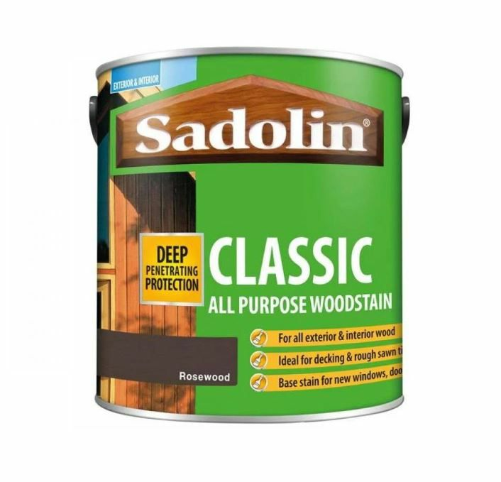 Sadolin Classic Wood Protection 1L Rosewood
