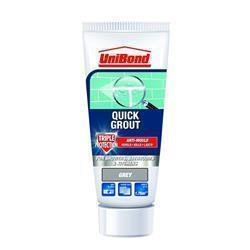 UniBond Quick Grout Triple Protect Tube Grey
