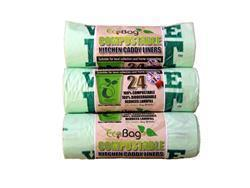 Ecobag 24 Compostable Caddy Liners 10L