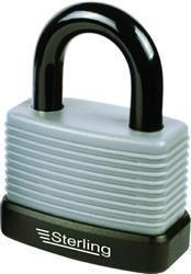Sterling 57mm Aluminium Weatherproof Padlock with Thermoplas