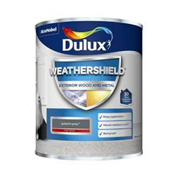 Dulux Weathershield Exterior Gloss 750ml Gallant Grey