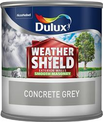 Dulux Weathershield Tester Concrete Grey 250ml