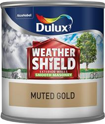 Dulux Weathershield Tester Muted Gold 250ml