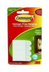 Command Picture Hanging Strips Small x4 17202