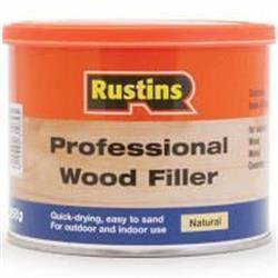 Rustins Professional Wood Filler Natural 500g