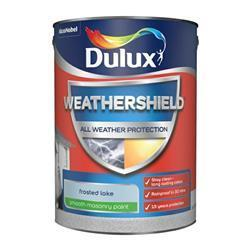 Dulux Weathershield Smooth Masonry Paint 5L Frosted Lake