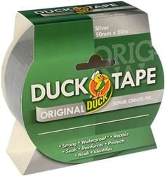 Duck Tape Original Silver 50mm x 50m