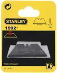 Stanley 1992 Trimming Knife Blade Card of 5 Blades - Blade L