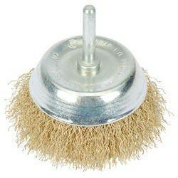 Draper Hollow Wire Cup Brush 75X6mm