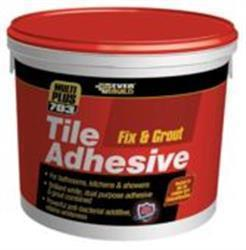 Everbuild 703 Fix and Grout Tile Adhesive 2.5L