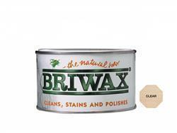 Briwax Natural Wax 400g Clear