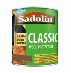 Sadolin Classic Wood Protection 1L African Walnut