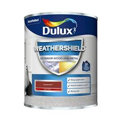 Dulux Weathershield Exterior Gloss 750ml Monarch