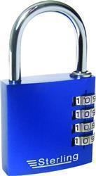 Sterling 3-Dial Anodised Combo Padlock 30mm
