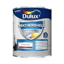 Dulux Weathershield Exterior Gloss 750ml PBW