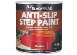 Blackfriar Anti Slip Step and Tile Paint Red 500ml