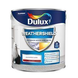 Dulux Weathershield Exterior High Gloss 2.5L PBW