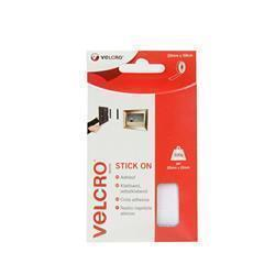 Velcro Stick On Tape 20mm x 50cm White