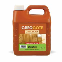 Barrettine Creocote Light Brown 4L