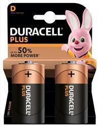 Duracell Plus Power D Size Batteries