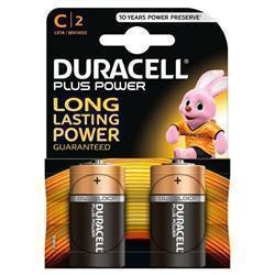 Duracell Plus Power C Size Batteries