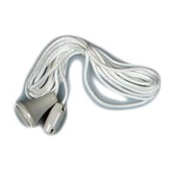 Dencon Spare Pull Cord for Ceiling Switch, White Pre-Packed