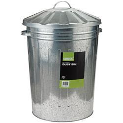 Draper Galvanised 85l Dustbin and Lid