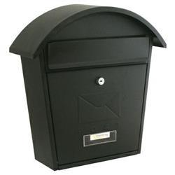 Sterling Post Box Matt Black