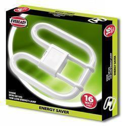 Eveready 2D Lamp 16W 4 PIN 240V CFL