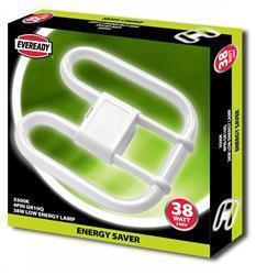 Eveready 2D Lamp 38W 4 PIN 240V CFL