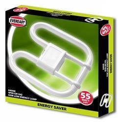 Eveready 2D Lamp 55W 4 PIN 240V CFL