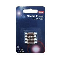 Dencon 13A Fuses Blister Packed (4)