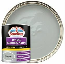 Sandtex 10 Year Exterior Satin Cloudy Day 750ml