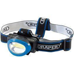 Draper 3watt Cob Head Lamp