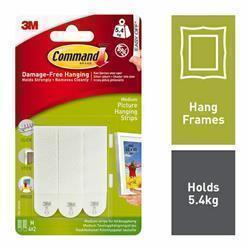 Command Picture Hanging Strips Medium x4 17201