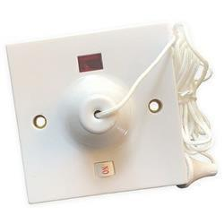 Dencon 45A Ceiling Switch with Neon and Indicator to BSEN 6066