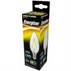 Energizer Filament LED Candle 2.4W Small Edison Screw