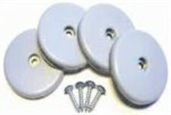 25mm Furniture Slide Glides (x4)